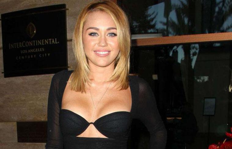 Miley Cyrus en juin 2012 en Californie.