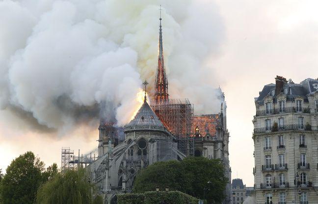 Incendie à Notre-Dame EN DIRECT: Report de l'allocution d'Emmanuel Macron... La flèche du monument s'est effondrée sur elle-même...