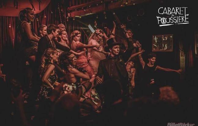 La troupe du cabaret de Poussiere aux aguets
