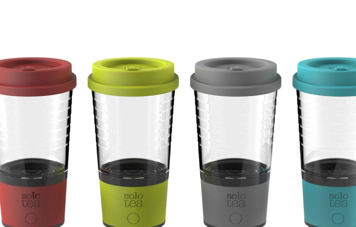 4 - Le mug SoloTea pour ne pas rater l'infusion du thé. – © Concours Lépine