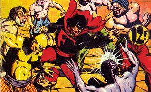 Fantax, né à Lyon en 1946, est un peu le croisement entre Arsène Lupin et Batman