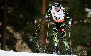 Maurice Manificat lors du 15km libre aux Mondiaux 2015 de ski de fond.