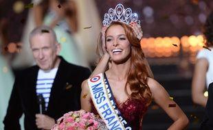 Maeva Coucke, miss Nord-Pas-de-Calais élue miss France 2018.