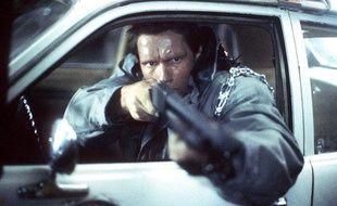 """Arnold Schwarzenegger dans le film """"Terminator"""""""