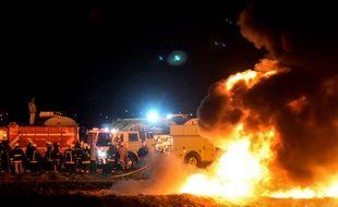 85 personnes sont mortes après l'explosion d'un oléduc, le 19 janvier 2019, à Tlahuelilpan, au Mexique.