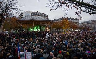 Initiée par plusieurs personnalités et organisations comme le Collectif contre l'islamophobie en France, la marche, qui a rassemblé 13.500 personnes à Paris.