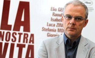 Daniele Luchetti à Rome le 8 mai