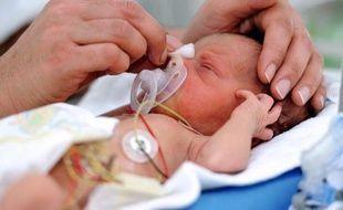 Un bébé prématuré à la naissance