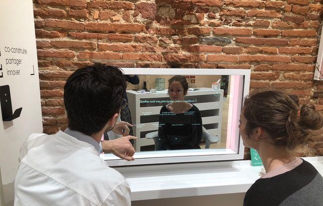 Toulouse: On a testé le miroir connecté, qui voit vos rides et vous donne un coup de main