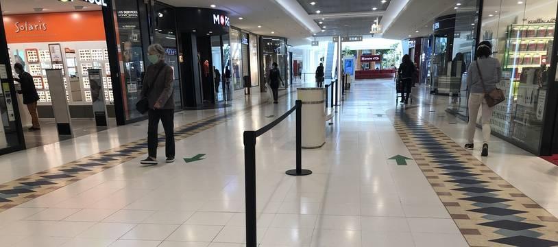 Le centre commercial Atlantis le 11 mai 2020