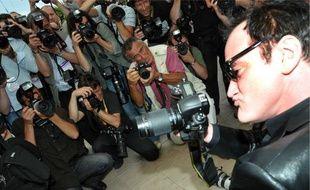 Le «photocall» de Tarantino en 2008, que seule la chaîne du festival peut filmer.