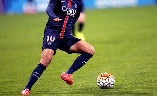 La joueuse du PSG Cristiane, lors d'un match de Coupe d'Europe contre Napoca, à Charléty, le 14 octobre 2015.