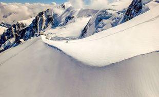 Juin 2014. Sur la route du Mont-Blanc. Konrad/ Sipa.