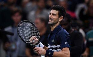 Novak Djokovic est bien le roi de Bercy.
