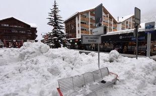 La station de ski de Zermatt en Suisse (image d'illustration).