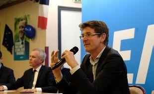 Pascal Canfin, candidat de la liste Renaissance pour les élections europeennes.