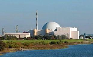 Une centrale nucléaire près de Hambourg, dans le nord de l'Allemagne.
