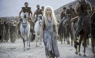Emilia Clarke dans la saison 6 de «Game of Thrones».