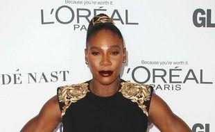 Serena Williams au GLAMOUR Women of the Year Awards, le 13 novembre 2017.
