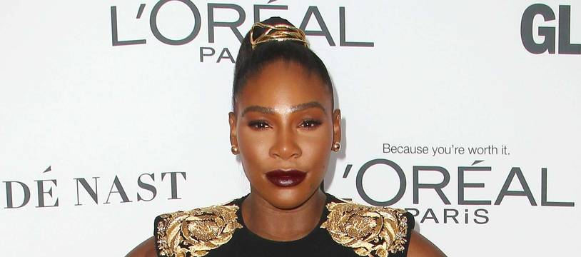Serena Williams au GLAMOUR Women of the Year Awards, le 13 novembre 2017.