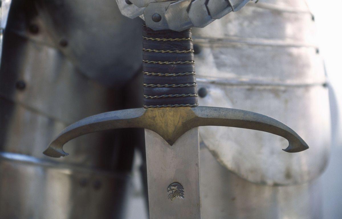 Illustration d'une épée – SUPERSTOCK/SUPERSTOCK/SIPA