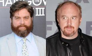 Zach Galifianakis et Louis C.K..
