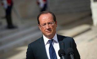 """Le président François Hollande a fait de l'emploi, lors du Conseil des ministres de mercredi, """"l'enjeu numéro un du quinquennat"""", a indiqué la porte-parole du gouvernement Najat Vallaud-Belkacem."""