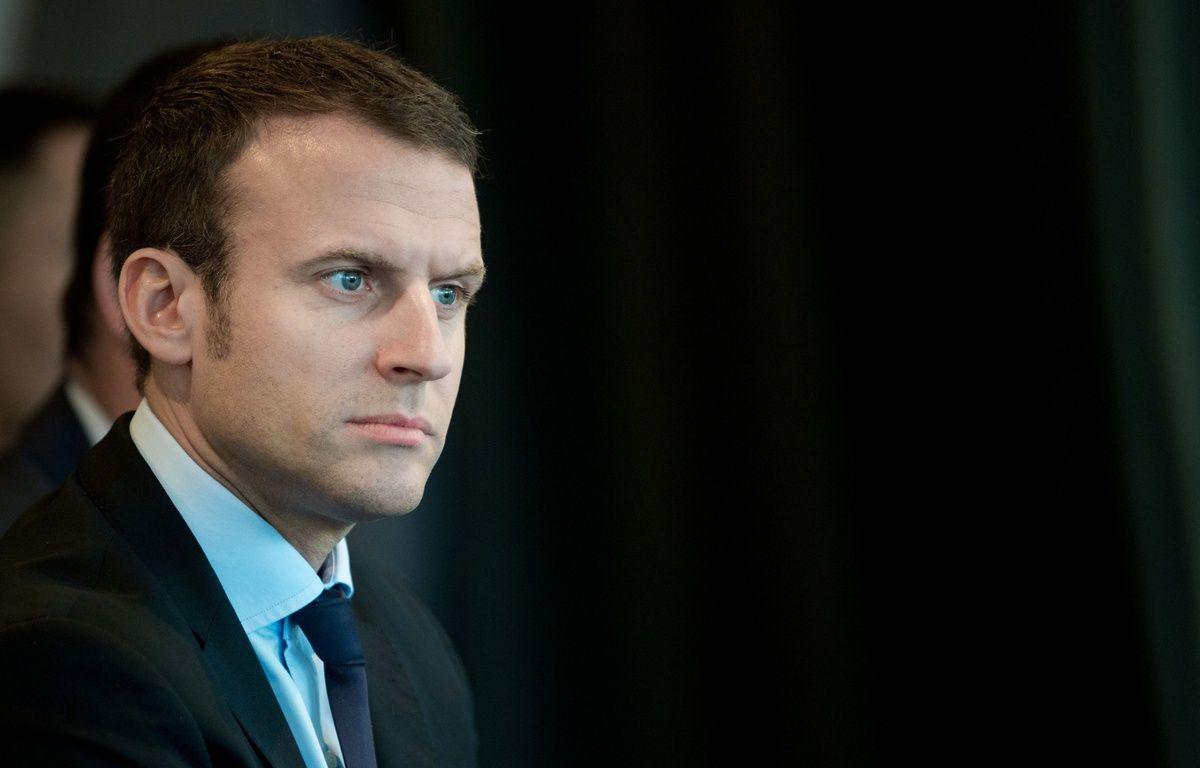 Emmanuel Macron à Paris, 26/10/2016.Credit:CHAMUSSY/SIPA – CHAMUSSY/SIPA