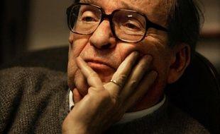 Le réalisateur Sidney Lumet dans son bureau à New York, le 31 janvier 2006