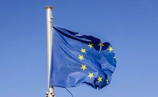 Illustration du drapeau européen.