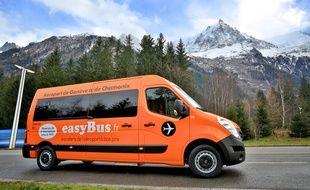 Entre la France et la Suisse, Easybus exploite déjà une première ligne, entre Chamonix et l'aéroport de Genève.