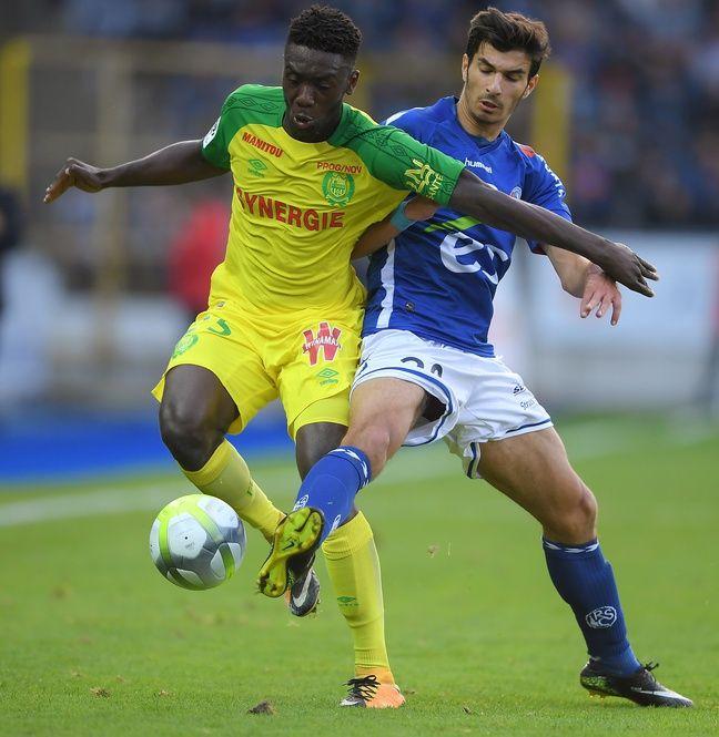Titularisé deux fois en cinq matches disputés avec Strasbourg où il est prêté un an, Martin Terrier a marqué un but décisif en fin de match à Dijon (1-1).