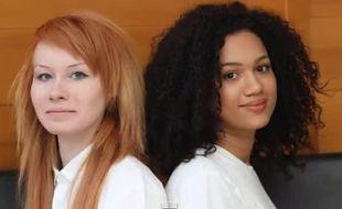 Lucy et Maria Aylmer, ces jumelles anglaises qui ne se ressemblent pas.