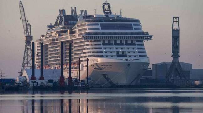 Arabie Saoudite: Le paquebot «MSC Bellissima» navigue dans les eaux du royaume, qui s'ouvre aux croisières
