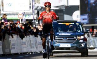 Le coureur de l'équipe Arkéa-Samsic Nairo Quintana ici lors de sa victoire sur le tour de la Provence en février 2020.