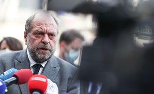 Eric Dupond-Moretti, ministre de la Justice, le 7 mai 2021 à Rouen.