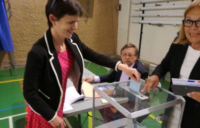 Sally Onn, Anglaise, a voté lors des élections européennes 2019 à Blagnac.