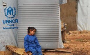Une fillette syrienne réfugiée à Baalbeck (Liban), le 24 février 2015