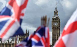 L'horloge Big Ben avant le lancement des grands travaux de rénovation, en 2017.