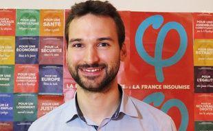 Ugo Bernalicis, député Les Insoumis de la 2e circonscription du Nord.