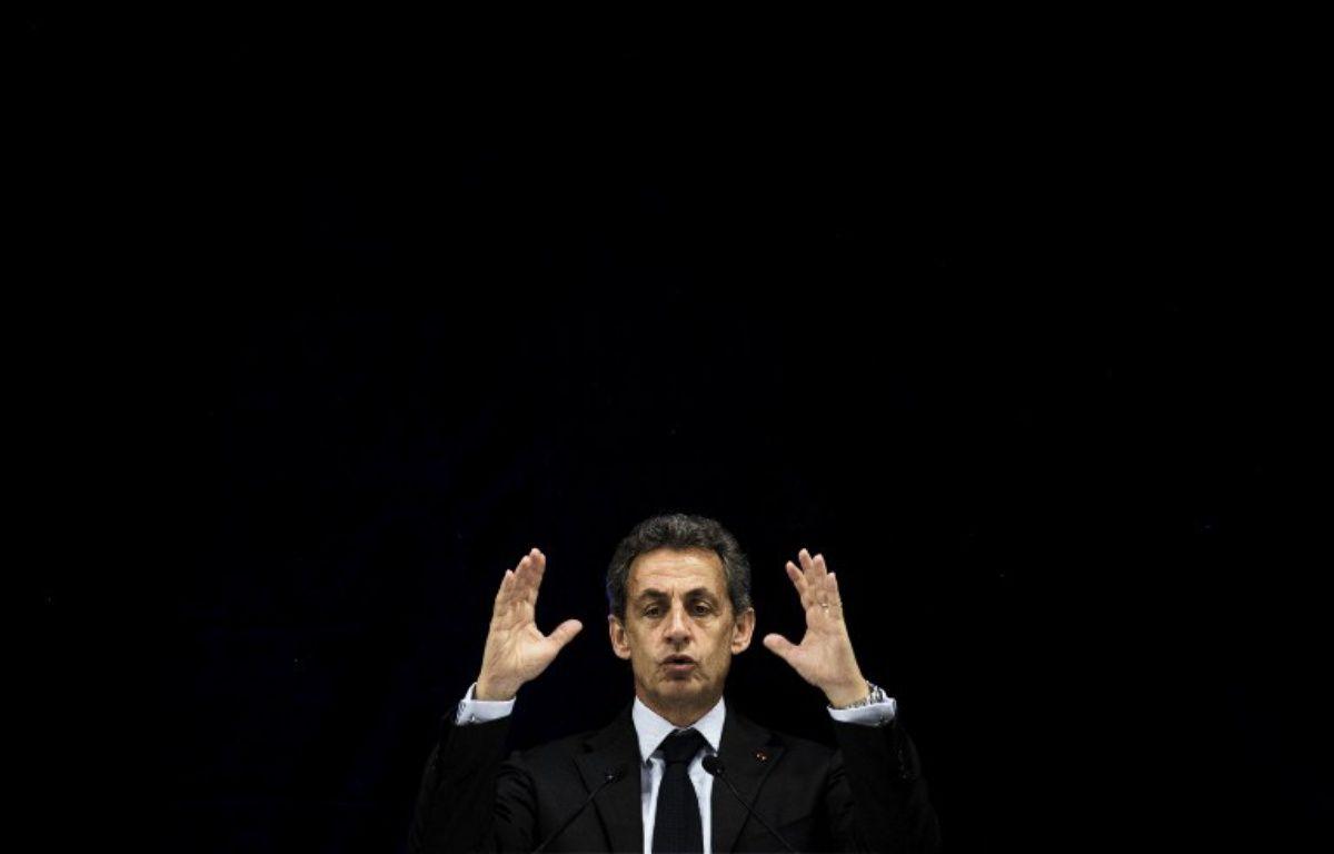 Nicolas Sarkozy, 2016.  – JEFF PACHOUD / AFP