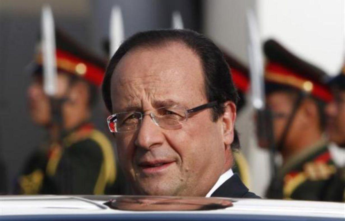 FrançoisHollande, le 5 novembre 2012 à Vientiane, au Laos. – REUTERS/ Sukree Sukplang
