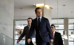 """L'engagement du président Nicolas Sarkozy de remettre à la justice tous les documents relatifs à l'attentat de Karachi """"sonnent comme un aveu, selon Magali Drouet, fille d'un salarié de la Direction des constructions navales (DCN) décédé lors de l'attentat."""