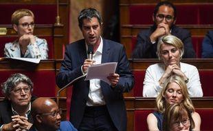 François Ruffin, le 19 juin 2018 lors de la séance de questions à l'Assemblée.