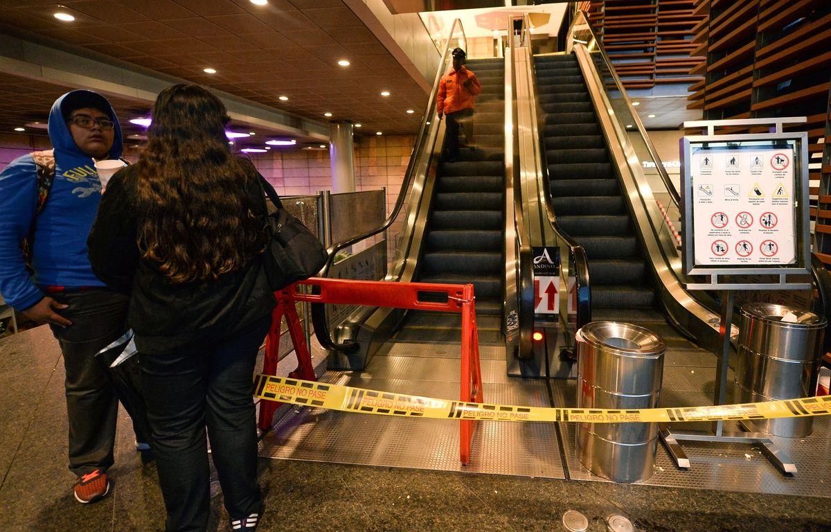 L'explosion a eu lieu dans un centre commercial de Bogota. – Raul Arboleda / AFP