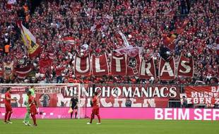 Le Bayern Munich face à Hoffenheim, le 5 novembre 2016.