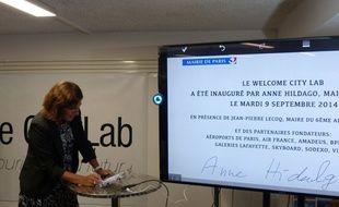 Mardi 9 septembre, Anne Hidalgo a inauguré l'incubateur dédié à l'innovation touristique, Welcome City Lab.