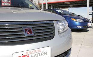 Une voiture du modèle Saturn Ion de 2006. Image d'illustration.
