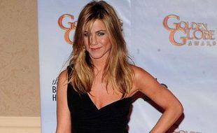 L'actrice Jennifer Aniston lors de la cérémonie des 67e Golden Globe, à Beverly Hills, le 17 janvier 2010.