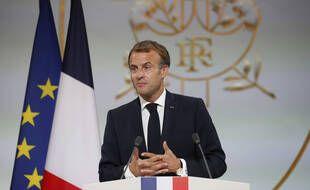 Emmanuel Macron, le président de la République depuis mai 2017.